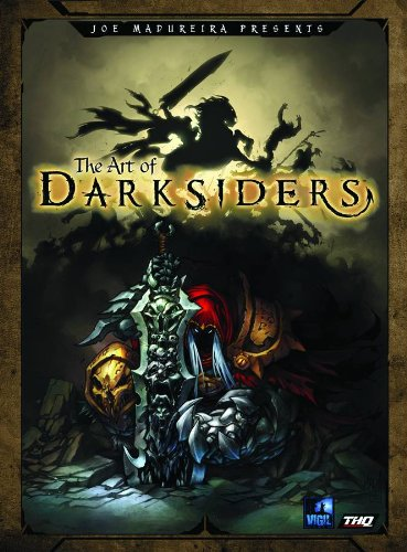 The Art of Darksiders (Paperback)-cover