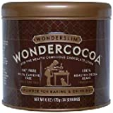 WONDERSLIM Wondercocoa Pure Cocoa Powder 6 Ounce