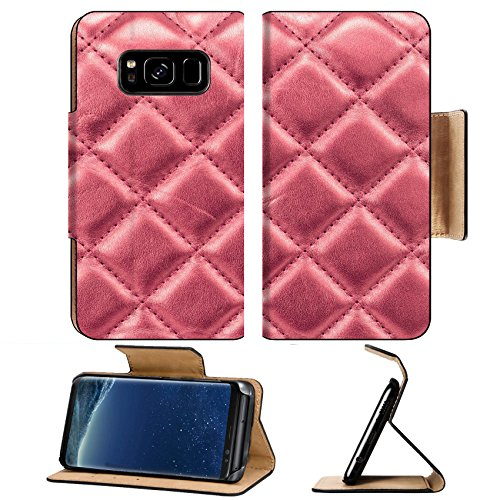 Luxlady Premium Samsung Galaxy S8 Flip Pu Leather Wallet Case IMAGE ID 27836504 photo close up leathers texture of sofa background
