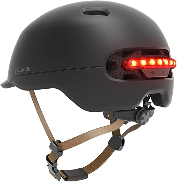 Xiaomi SMART4U-Casco SMART4U, con Tira LED, para Mini Scooter ...