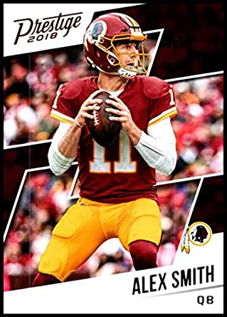 2018 Prestige NFL  34 Alex Smith Washington Redskins Panini Football Card f975defd4