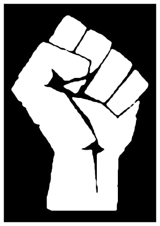 Amazon.com: Sticker Decal Retro 60s Black Power Civil Rights ...
