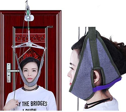 Door Hanging Cervical Traction Frame Hanging Neck Traction Home Cervical Spondylosis Treatment Tensioner Neck Pain