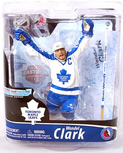McFarlane NHL Series 28 Action Figure  Wendel Clark Toronto Maple Leafs  (Regular White Jersey) by McFarlane  Amazon.ca  Sports   Outdoors 84df2fecc