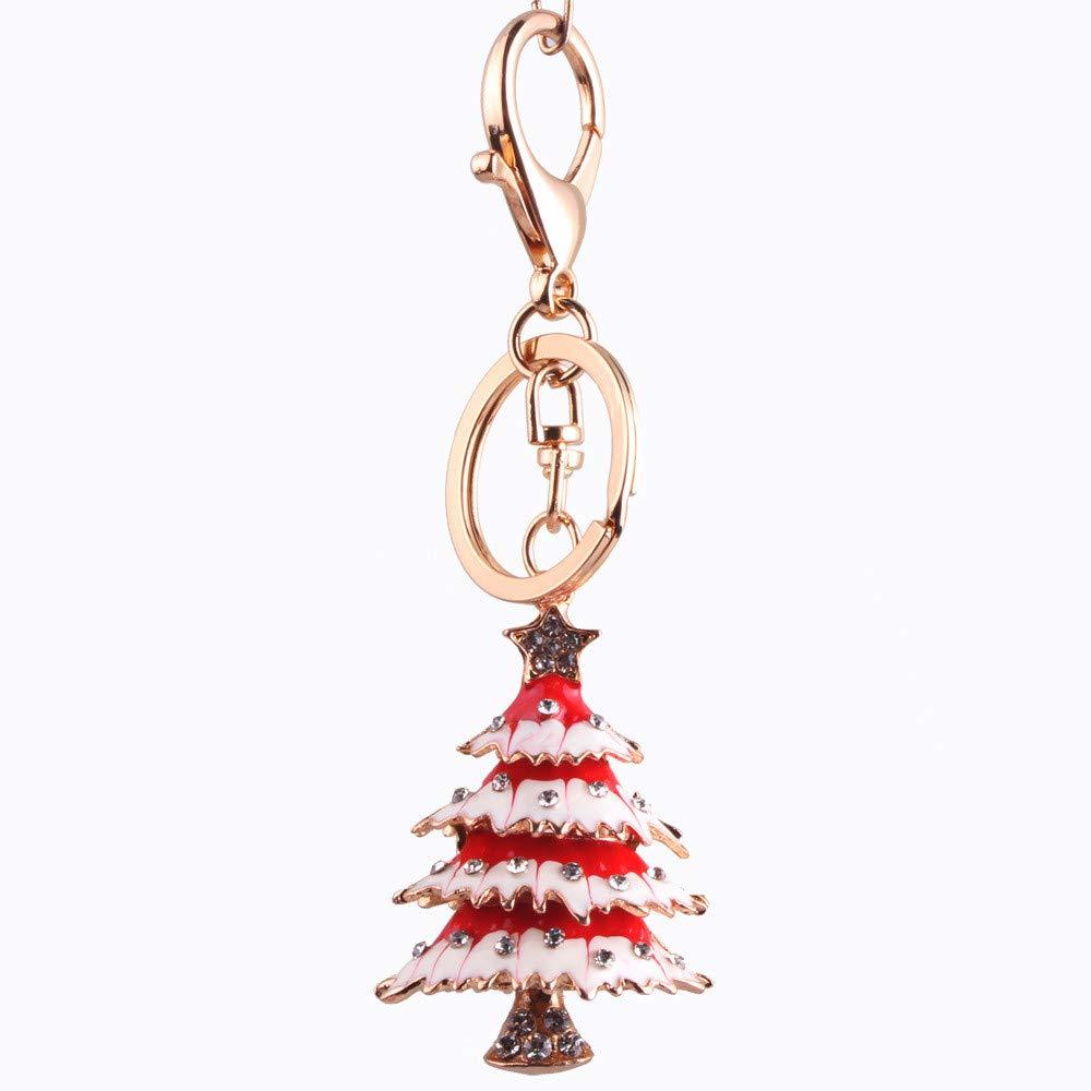 Keychian Árbol navideño navideño de navidad Clave creativa ...