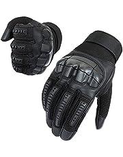 Neusky Męskie rękawice taktyczne, ekran dotykowy, rękawiczki rowerowe, rękawice motocyklowe, MTB, rękawice do jazdy na rowerze górskim, rękawice outdoorowe, idealne do Airsoft, wojskowych, paintballa, polowań