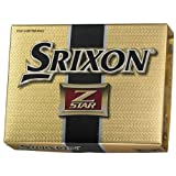 Srixon Z-Star Men's 3 Piece Construction Golf Ball, Outdoor Stuffs