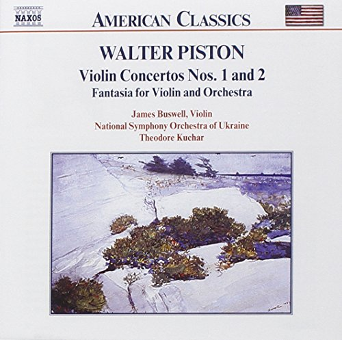 (Piston: Violin Concertos Nos. 1 and 2; Fantasia Concertos)