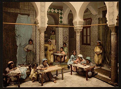 [Luce Ben Aben, School of Arab Embroidery, Algiers, Algeria] (Arab Embroidery)