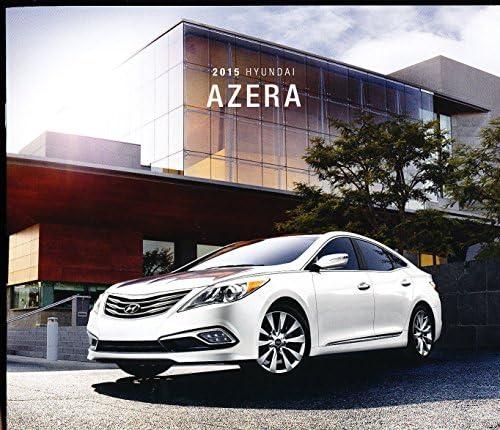 2015 Hyundai Azera and Limited Original Car Sales Brochure Catalog ...