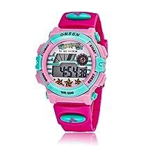 Kids Outdoor Sports Watch Children Waterproof Digital Alarm Dress Wristwatch forGirls