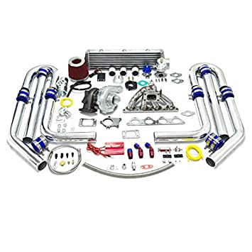 High Performance Upgrade T04E T3 DSM 18pc Turbo Kit - Mitsubishi 4G63 Engine