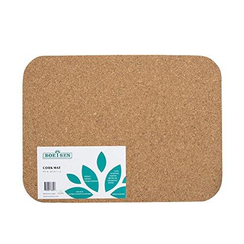 BOEISEN Cork Mat Bath Mat Non-slip Absorbent Bathmats Natural Doormats Kitchen - Cork Eco Mat