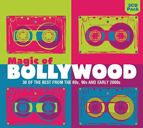 Magic Of Bollywood - 30 Of The Best From The 80s, 90s, And Early 2000s (2-CD Set)