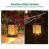 TomCare Solar Lights Upgraded Solar Lantern