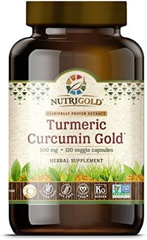 NutriGold Turmeric Curcumin Features BioPerine product image