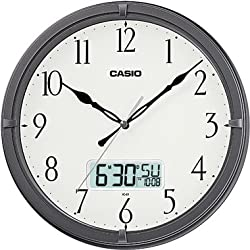 Casio Ic-01-8 Wall Clock with Day and Date Analog Digital Display