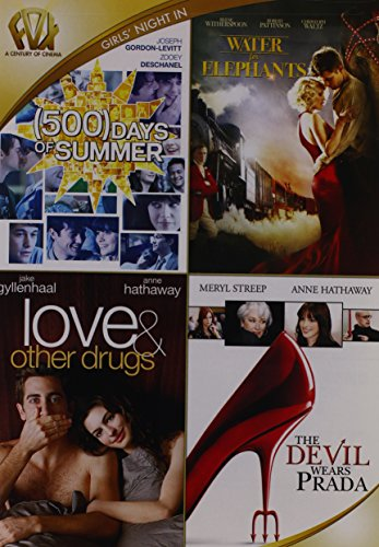 - 500 Days of Summer / Water for Elephants / Love and Other Drugs / The Devil Wears Prada Quad Feature