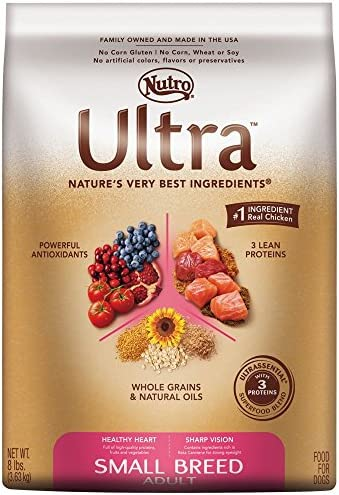 Nutro Ultra Small Breed Dry Dog Food 15lb