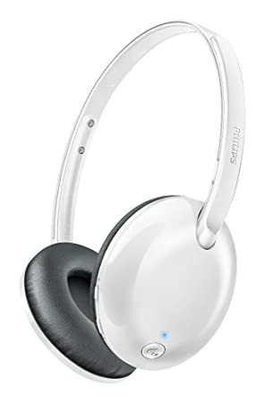 Philips Flite Ultrlite Shb4405wt Casque Audio Bluetooth Android Ios