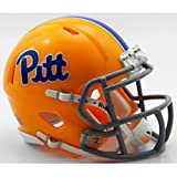 Pittsburgh Panthers NCAA Mini Speed Football Helmet Script Gold TB