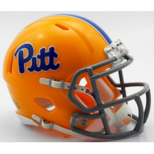 (Riddell NCAA Pittsburgh Panthers Helmet Mini Speed, One Size, Team Color)