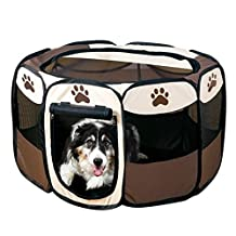 Beautylife88 #0008 Animal Playpen Exercise Kennel Dogs Cats Indoor/outdoor S