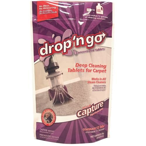 UPC 015961377405, Capture cleaing system Drop N Go Deep Cleaning Pro Steam Tablets