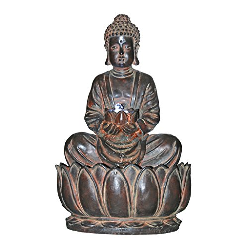 Design Toscano Endless Serenity Buddha Sculptural Fountain (Tabletop Fountain Flower compare prices)