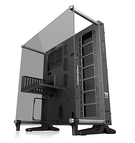 Thermaltake Core P5 Tempered Glass Titanium Edition ATX Vertical GPU Modular Gaming Open Frame Computer Case CA-1E7-00M9WN-00 ()
