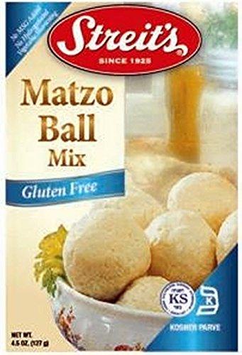 Streit's Mix Matzo Ball Mix - Gluten-Free - 4.5 ounce (Pack of 3)