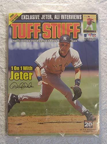 Derek Jeter - New York Yankees - Tuff Stuff Magazine - October 2004 - Derek Jeter & Muhammad Ali interviews - In Original Cellophane!