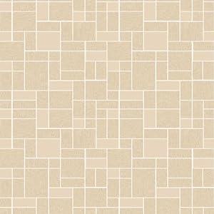 Beige 89114 vogue kitchen bathroom tiling on a for Tiling on a roll kitchen wallpaper