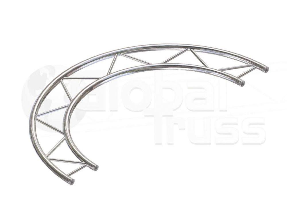 F22 Pieza circular 90° horizontal para diámetro 3,0m