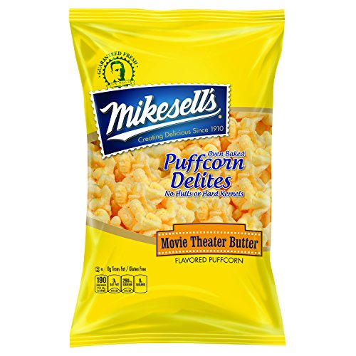 Mikesell's 5.5 oz. Butter Puffcorn Delites - 1 case of 6 bags