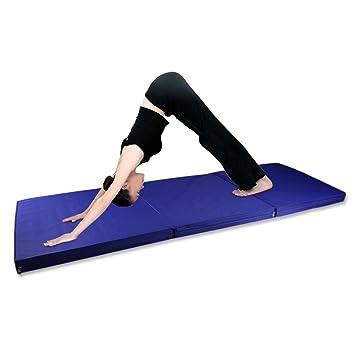 Esterilla Yoga,Colchoneta de Fitness para Gimnasio,180cm x ...