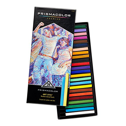 Prismacolor Premier Art Stix Colored Pencils - 24 / Set