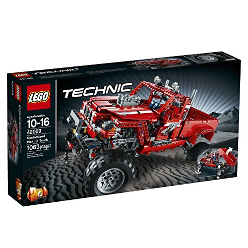 LEGO Technic 42029 Customized Pick Up Truck (Pick Up Technics)