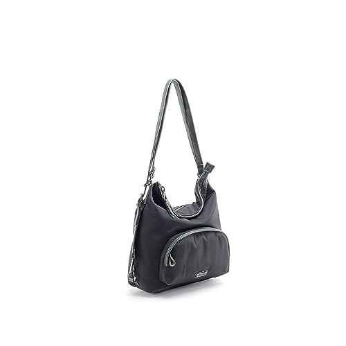 Abbacino Trendy Jing, Cartera para Mujer, (Negro), 15x29x34 cm (W