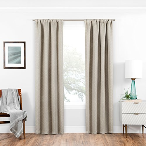 ECLIPSE Blackout Curtains for Bedroom - Isanti 37