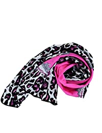 New Noble Elegant Brands Scarf Street Style Leopard Print Scarf Silk Scarves