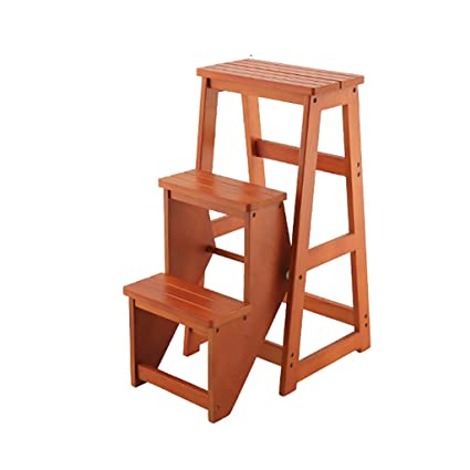 Taburete de silla Taburete de madera maciza Taburete ...
