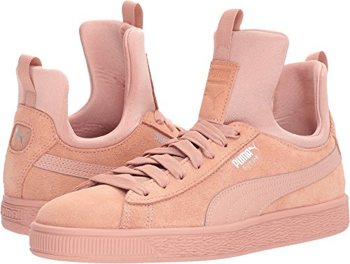 Beige PUMA Beige Women's 11 US Peach Fierce Peach Suede B x1Y7x