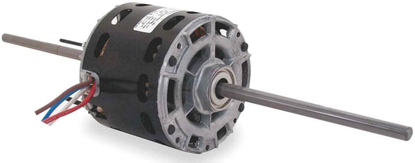 AO Smith 393A5.0-Inch Frame Diameter 1/15 HP 1050 RPM 115-Volt 2.4-Amp Sleeve Bearing Fan Coil