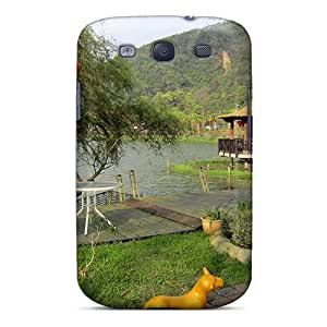 Galaxy S3 Case, Premium Protective Case With Awesome Look - Lakeside Trail