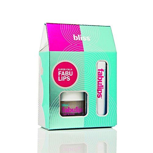 bliss Super-cala-fabulips Gift Set (2 Pcs) | Includes Fabulips Sugar Lip Scrub & Lip Balm