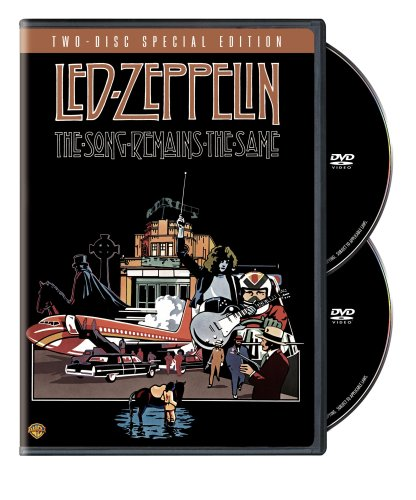 DVD : Led Zeppelin - The Song Remains the Same (Remastered, Deluxe Edition, Widescreen, , 2 Disc)