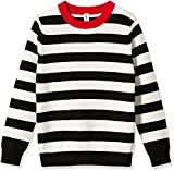 Kid Nation Kid's Long Sleeve Pullover Sweater L Black for Boys or Girls