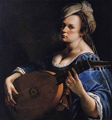 Artemisia Gentileschi Self Portrait as a Lute Player