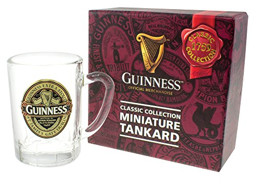 Mini Tankard With Guinness Classic Collection St. James Gate Label - Gate St Guinness James